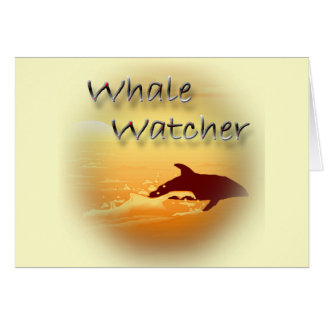 Whale Watcher  red Card