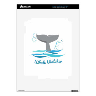 Whale Watcher iPad 2 Decal