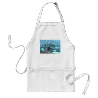 Whale Watching Aprons