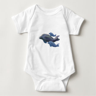 Whale Watching Baby Bodysuit