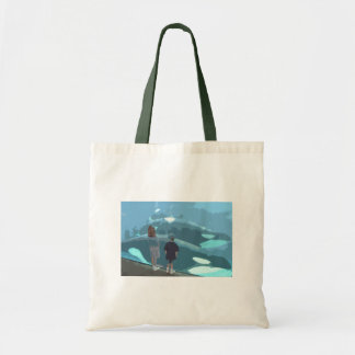 Whale Watching Budget Tote Bag