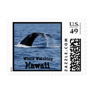 Whale Watching,  Hawaii Postage