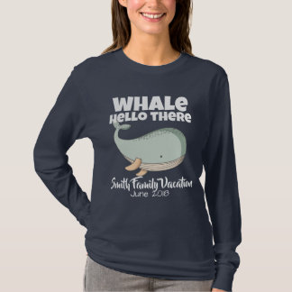Whale Watching Matching Family Vacation T-Shirt