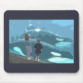 Whale Watching Mousepad