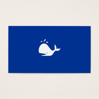 Whale Watching Tours Business Card