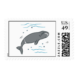 Whale Whales Marine Mammals Cetacea Ocean Art Postage