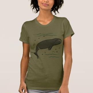 Whale Whales Marine Mammals Cetacea Ocean Art Tee Shirt
