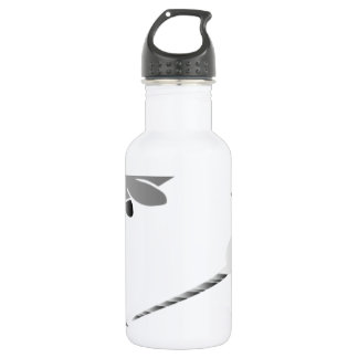 whale whales narwal narwhale unicorn scuba diving 18oz water bottle