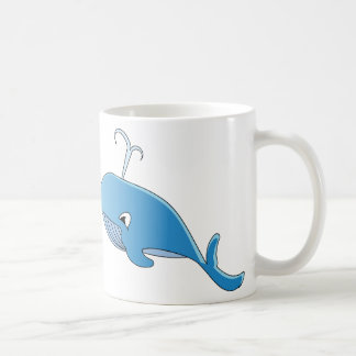 Whale - White 11 oz Classic White Mug