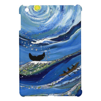 Whale with Boat Cover For The iPad Mini
