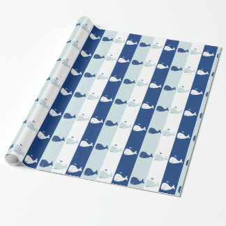 Whale Gift Wrapping Paper