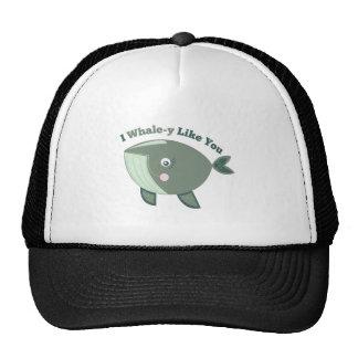 Whale-y Like You Trucker Hat