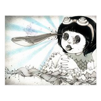 """Whale"" Yan Wei | 闫威 Postcard"
