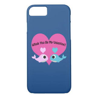 Whale You Be My Valentine? iPhone 8/7 Case