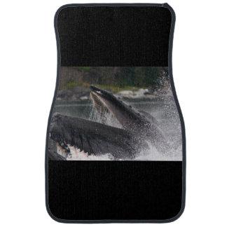 whale floor mat