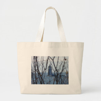 Whaleback Lighthouse 2 Tote Bags