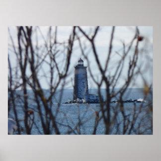 Whaleback Lighthouse 2 Poster