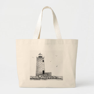 Whaleback Lighthouse Bags
