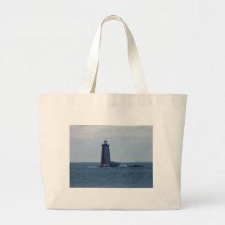Whaleback Lighthouse Jumbo Tote Bag