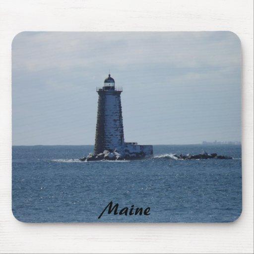 Whaleback Lighthouse Mouse Pad