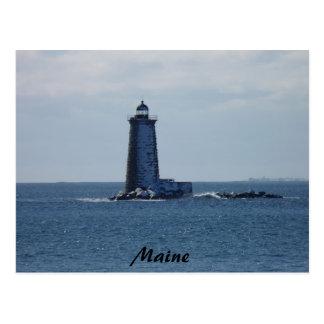Whaleback Lighthouse Postcard