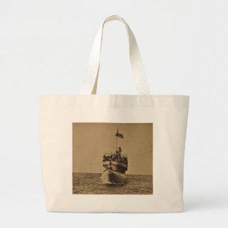 Whaleback Passenger Steamer Christopher Columbus Tote Bags