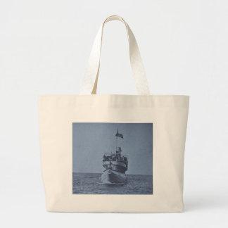 Whaleback Passenger Steamer Christopher Columbus Canvas Bag