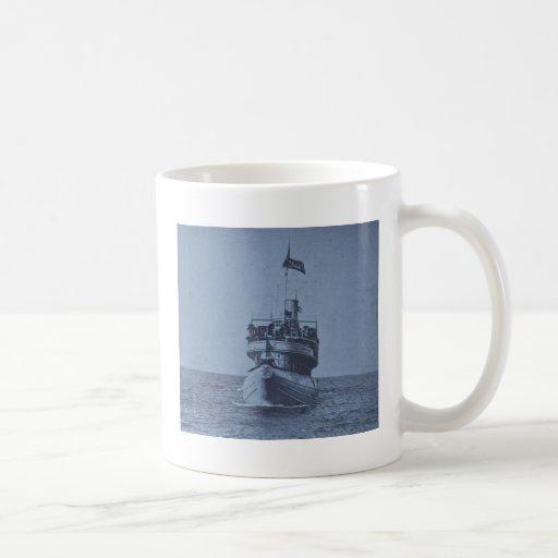 Whaleback Passenger Steamer Christopher Columbus Classic White Coffee Mug