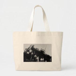 Whaleback Str Atikokan Ashore Marine City, MI Tote Bags