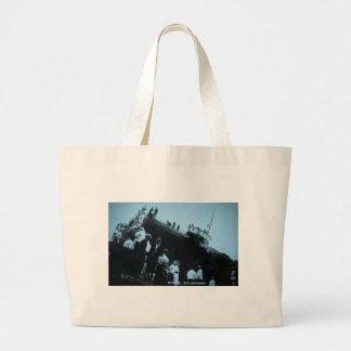 Whaleback Str Atikokan Ashore Marine City, MI Canvas Bag