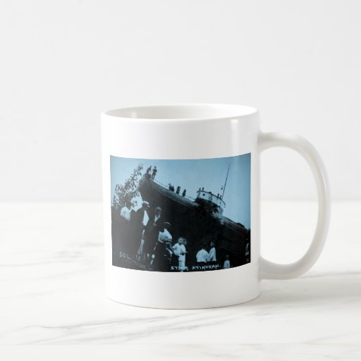 Whaleback Str Atikokan Ashore Marine City, MI Classic White Coffee Mug