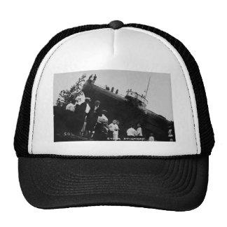 Whaleback Str Atikokan Ashore Marine City, MI Mesh Hats