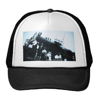 Whaleback Str Atikokan Ashore Marine City, MI Mesh Hat