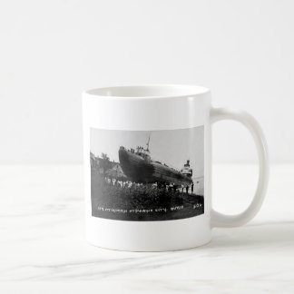 Whaleback Str Atikokan Ashore Marine City, MI Coffee Mug