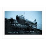Whaleback Str Atikokan Ashore Marine City, MI Post Card