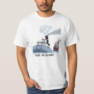 Whaleback: Thar she blows! T-Shirt