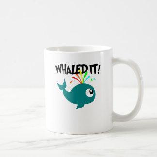 ¡Whaled él! Taza Clásica