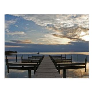 Whalehead Dock Postcard
