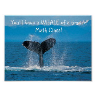 WhaleMath Poster