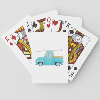 Whalen Summer Surf Wagon Playing Cards