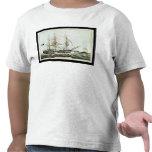 Whaler americano, grabado por el curtidor de Natha Camisetas