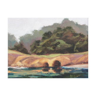 Whaler's Caves Gallery Wrap Canvas