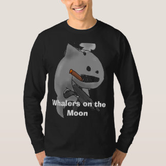Whalers on the Moon long black t-shirt