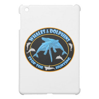 Whales and Dolphins iPad Mini Covers