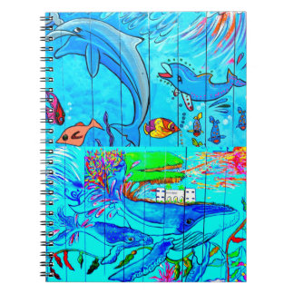 whales and dolphins notebook