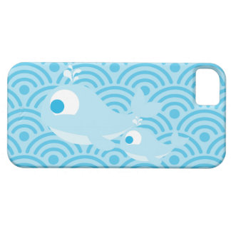 Whales and Waves iPhone SE/5/5s Case