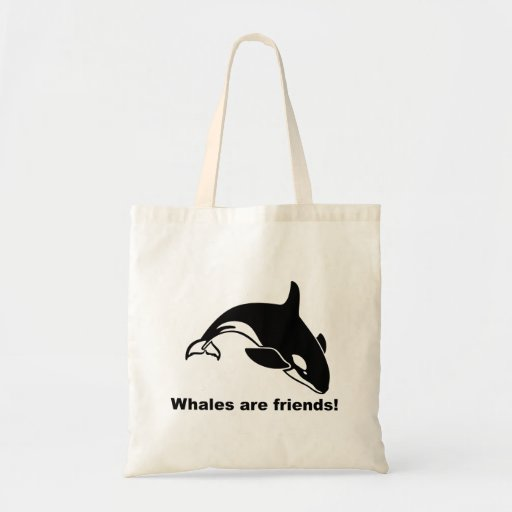 Whales Are Friends Bag