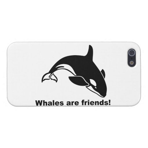 Whales Are Friends Cover For iPhone 5