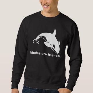 Whales Are Friends Sweatshirt