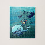 Whales are Furious! Jigsaw Puzzle